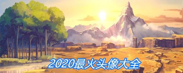 2020最火头像大全