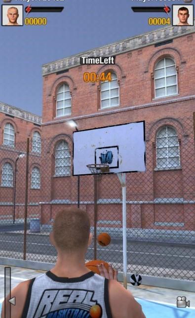 真正的篮球