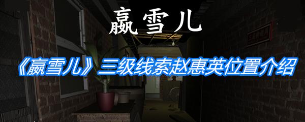《孙美琪疑案:嬴雪儿》三级线索赵惠英位置介绍
