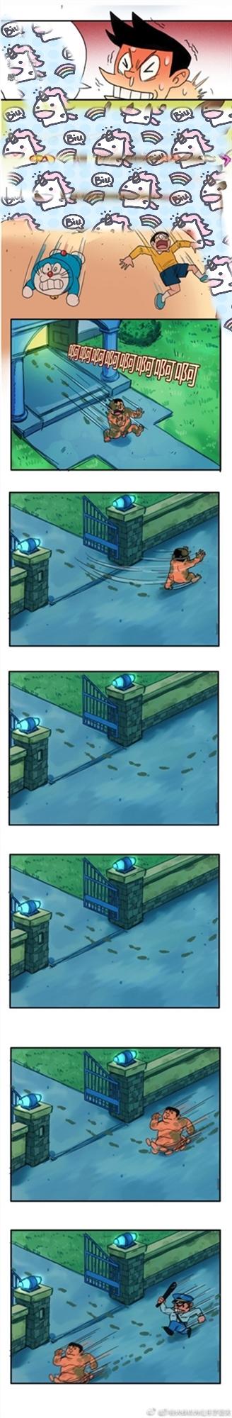 《微博》哆啦A梦六张图梗介绍