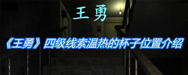 《孙美琪疑案:王勇》四级线索温热的杯子位置介绍