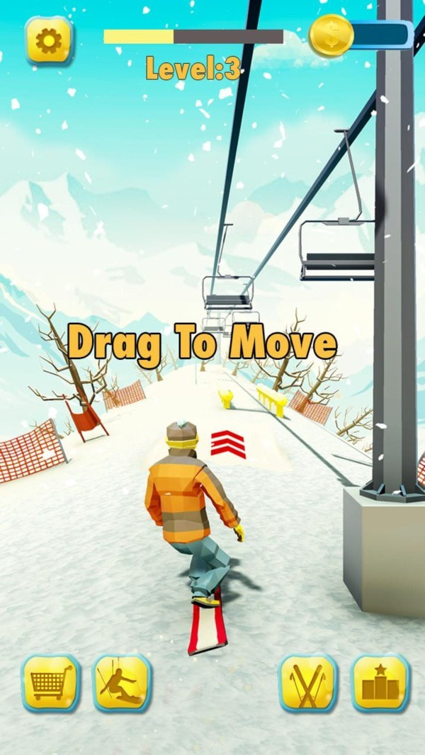 滑雪激斗赛破解版