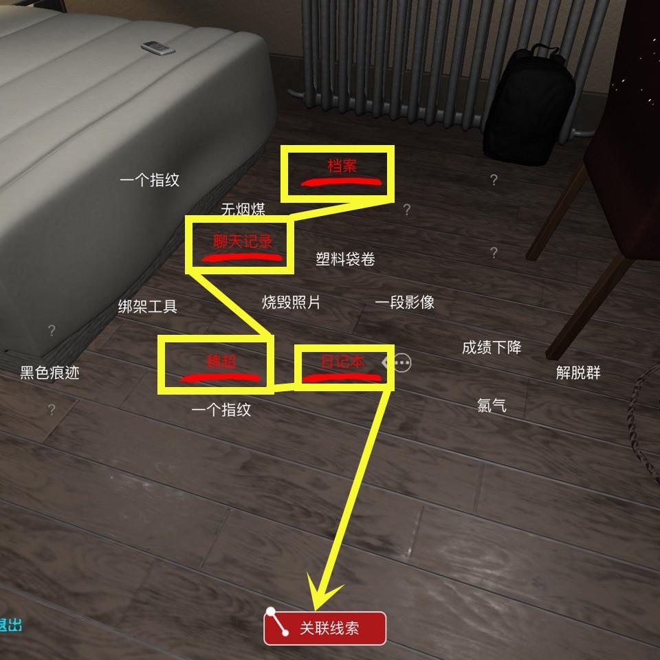《孙美琪疑案:袁家宾馆》三级线索魏超身份位置介绍