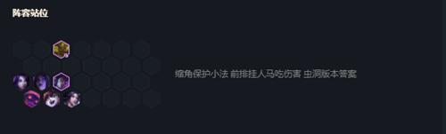 《云顶之弈》10.21重秘森林小法阵容攻略