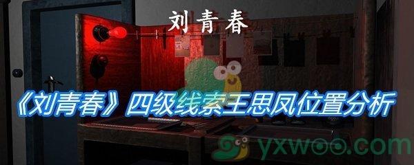 《孙美琪疑案:刘青春》四级线索王思凤位置分析