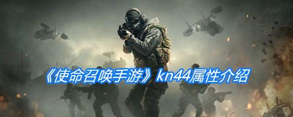 《使命召唤手游》kn44属性介绍