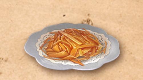 《明日之后》糖渍橙皮丝制作方法