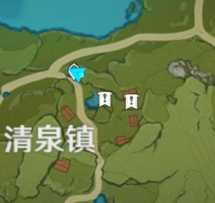 《原神》清泉镇隐藏商人位置