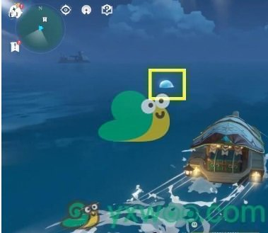 《原神》海岛大水泡解密宝箱获得方法